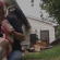 This pit bull saved his family when their home burned to the ground